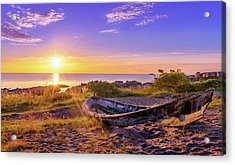 Acrylic Print featuring the photograph On The Last Shore by Dmytro Korol