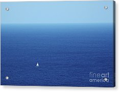 On The Mediterranean Acrylic Print