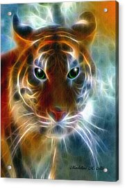 On The Prowl Acrylic Print by Madeline  Allen - SmudgeArt