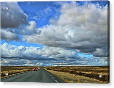 On The Road Again # 3 Acrylic Print by Allen Beatty