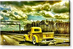 On The Road Again Acrylic Print by Carlos Avila