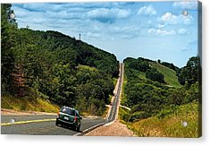 On The Road Again Acrylic Print by Jeff S PhotoArt