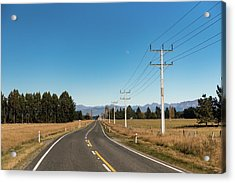 Acrylic Print featuring the photograph On The Road by Gary Eason