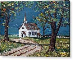 On The Road Home Acrylic Print by Raymond Edmonds