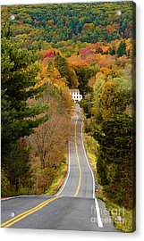 On The Road To New Paltz Acrylic Print