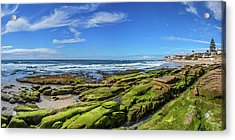 On The Rocky Coast Acrylic Print by Peter Tellone