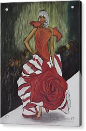 On The Runway Acrylic Print by Annette Kagy