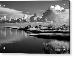 On The Sound Side Acrylic Print by Dan Carmichael