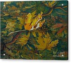 On The Surface Acrylic Print