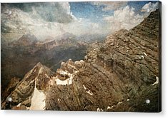 On The Top Of The Mountain  Acrylic Print
