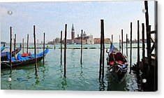 On The Waterfront Acrylic Print