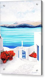 On The Way - Prints From My Original Oil Paintngs Acrylic Print