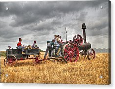 On The Way Acrylic Print by Shelly Gunderson