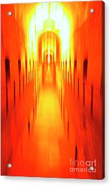 Acrylic Print featuring the photograph On The Way To Death Row by Paul W Faust - Impressions of Light