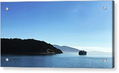 Acrylic Print featuring the photograph On The Way To Orcas by Lorraine Devon Wilke