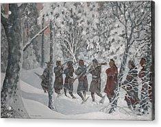 On The Way To Schenectady Acrylic Print by Giacomo Alessandro Morotti
