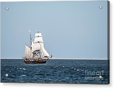 on the way to Texel Acrylic Print by Hannes Cmarits