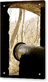 On Time And On Target Acrylic Print by Staci-Jill Burnley
