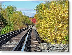 Acrylic Print featuring the photograph On To Fall by Glenn Gordon