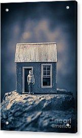 On Top Of Old Smokey Acrylic Print by Edward Fielding