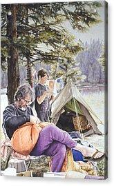 On Tulequoia Shore Acrylic Print