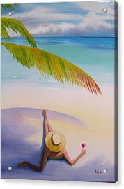 On Vacation Acrylic Print
