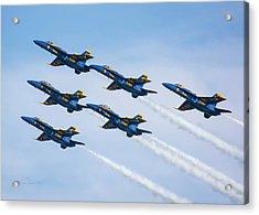 On Wings Like Eagles Acrylic Print