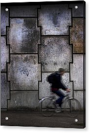 On Your Bike. Acrylic Print