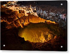Onandaga Cave Pool Acrylic Print