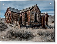Once A Home Acrylic Print by Ralph Vazquez