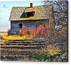 Once A Lovely Home Acrylic Print by Johanna Bruwer