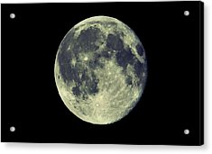 Once In A Blue Moon Acrylic Print by Candice Trimble