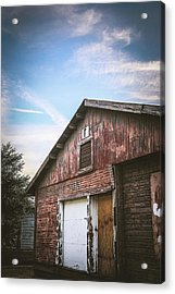 Acrylic Print featuring the photograph Once Industrial - Series 1 by Trish Mistric
