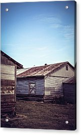 Acrylic Print featuring the photograph Once Industrial - Series 2 by Trish Mistric