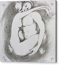 Once Lovers Acrylic Print