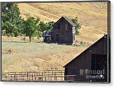 Once Upon A Homestead Acrylic Print