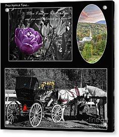 Once Upon A Time... Acrylic Print