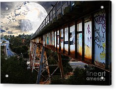 Once Upon A Time In Any Town Usa Acrylic Print by Wingsdomain Art and Photography