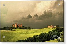 Acrylic Print featuring the mixed media Once Upon A Time In Tuscany by Rosario Piazza