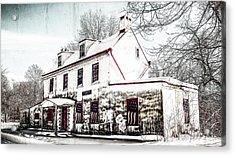Vennell Tavern House 1795 Acrylic Print