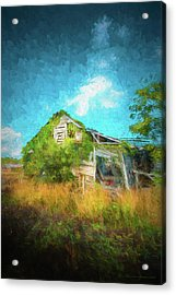 Once Was Home Acrylic Print by Marvin Spates