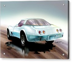 Once You Have Owned A Vette... Acrylic Print