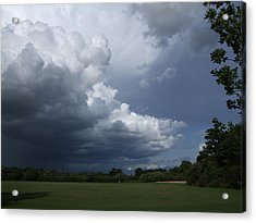 Oncoming Storm Acrylic Print by Deborah Brewer