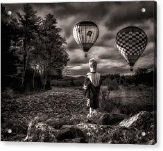 One Boys Dream Acrylic Print by Bob Orsillo