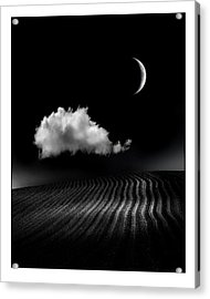 One Cloud Acrylic Print by Mal Bray