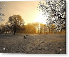 One Cold Morning Acrylic Print