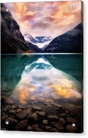 One Colorful Moment  Acrylic Print