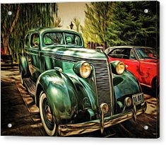 One Cool 1937 Studebaker Sedan Acrylic Print