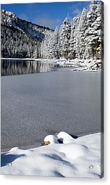 One Cool Morning Acrylic Print by Chris Brannen