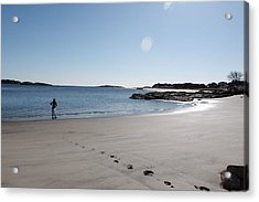 One Day At A Time........... Acrylic Print by Lewis Journeyman